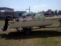 "19'4"" center console with 1997 112 h.p. Evinrude /"