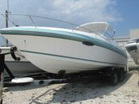 1995 Wellcraft 250 Eclipse 150 Mariner Boats Aft Cabin