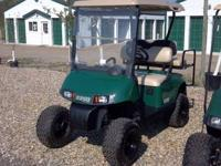 I have a 1995 Ezgo Electric golf cart. It has 2012