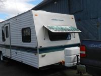Gently used camper that sleeps 8 or 6 adults