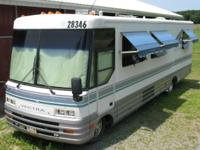 This one owner motor home was enjoyed by a retired,