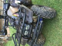 1995 Yamaha 350 Big Bear 4 Wheeler, 4WD, Electric