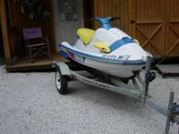 1995 Yamaha Jet Ski, Model RA700T, runs great, good