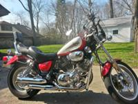 Up for sale is my 1995 XV750 Virago. Price is