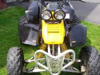 1995 YAMAHA WARRIOR 350cc, HAS REVERSE!! Brand new