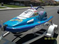 1995 yamaha waveruner 3 gp 701 cc 3 seater, awesome