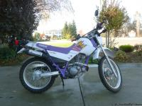 This is a beautiful 1995 Yamaha XT225GC in like brand