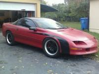 this is a 1995 z28 hardtop rolling chassis,project that
