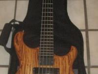 1995 Custom Alembic 5-string Electric Bass Guitar with