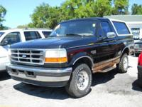 Options Included: Pwr Steering, Front Stabilizer Bar,