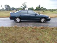 1995 Honda Accord LX, runs great, really trusted