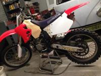 I have a 95 cr250 entirely rebuilt. New bottom and top