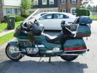 What is up for sale is a very nice 1995 Honda Goldwing