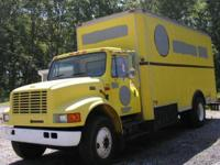 1995 International 4700 DT 466 Engine 6 + 1 Spicer