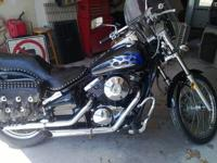 This bike has been garage kept since purchased. Has