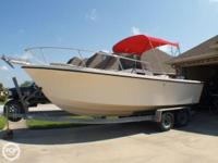 1995 Parker Deep V Center console with a 1994 Yamaha