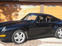 THIS PORSCHE IS ABSOLUTELY STUNNING IN ITS BLACK PAINT