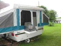 1995 Starcraft Starter pop up camper. Sleeps 5 to 6