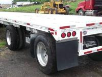 1995 Utility FS2CHE Flatbed Trailer, 48x96, Fixed