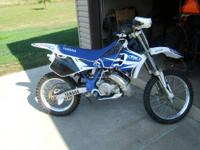 1995 Yamaha WR 250. Bike has recently been gone over