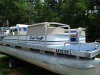1996 20ft Parti Kraft w/90hp Mariner. Short term