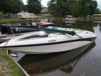 1996 22ft CrownLine 5.7 Mercruiser. Motor is blown and