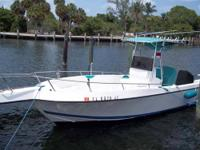 Type of Boat: Open Fisherman Year: 1996 Make: Offshore