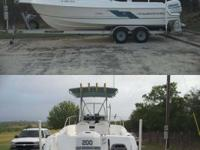 Type of Boat: Center Console Year: 1996 Make: Aqua