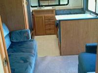 great little trailer,1996 komfort 28ft camp trailer. in