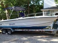 This 24ft 1996 Fishermen 24CC offers you with a feeling