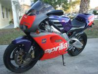 """STREET LEGAL"" Aprilia RS250 GP Replica up for"
