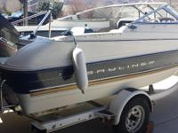 1996 Bayliner 1702 LS CUDDY with Cover, Stereo -