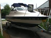 1996 Bayliner Capri with Cudy Cabin, 19ft. Took