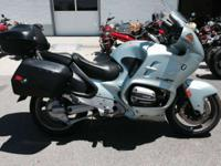 Come and get it! Motorcycles Adventure. 1996 BMW R 1100
