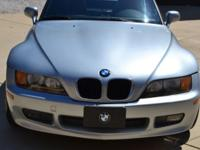 1996 BMW Z3 1.9L turbocharged convertible for sale;