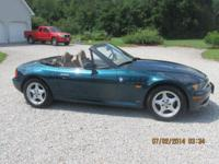 1996 BMW Z3,Boston Green Met. , all original, Tan
