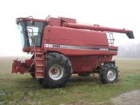 1996 Case IH 2188 Axial-Flow combine equipped with 4wd,