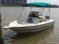 1996 Century 1900 Center Console deep vee hull, 1996