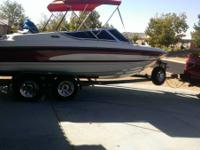 1996 Chaparell 21ft special edition runabout new paint