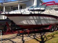 This 1996 Chaparral 25 Signature is powered by a