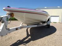This is a gorgous 21' Checkmate Pulsare 2100 in fresh