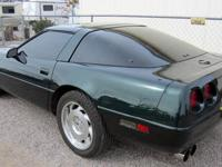 1996 C4 Corvette Coup with 64,000 miles. This car is in