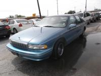 1996 CHEVY CAPRICE CLASSIC, ONE OF A KIND, VERY CLEAN,