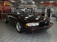 >>>> > > 1996 CHEVY IMPALA SS ALLOY WHEELS CASH JOBS