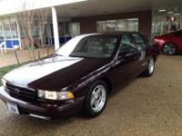 1996 Chevrolet Caprice Classic/Impala SS/Caprice