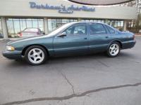 1996 Chevrolet Caprice Classic or Impala Sedan SS Our