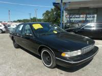 1996 Chevrolet Caprice for sale in great condition.
