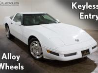 1996 Chevrolet Corvette, ABS brakes, Alloy wheels,
