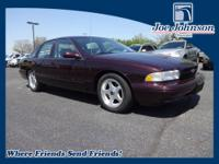 Clean Carfax, Impala SS, 42,000 Actual Miles, 4 Speed