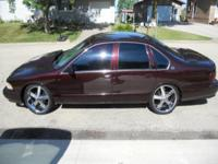 I am selling my 1996 Impala SS sitting on 20 inch KMC